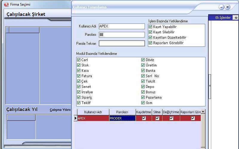 Apex Ticari Sistem