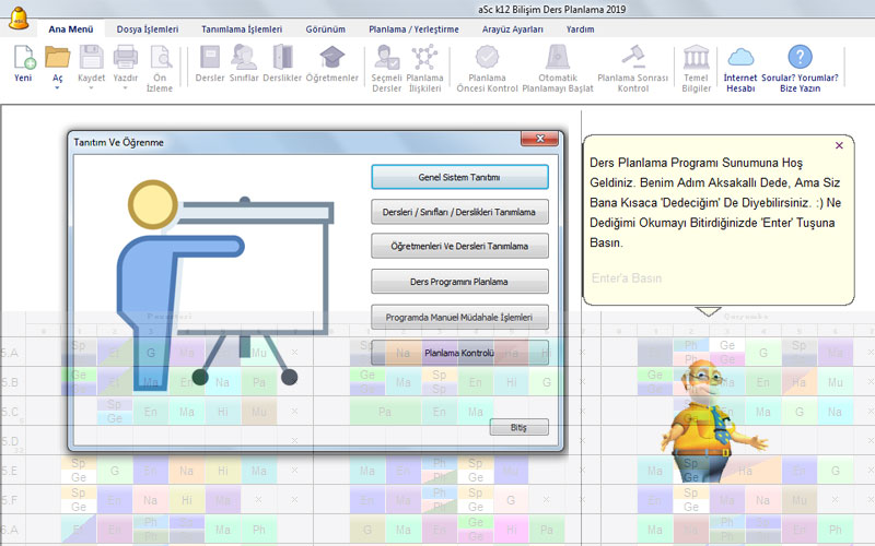 aSc Timetables – Ders Dağıtım Programı