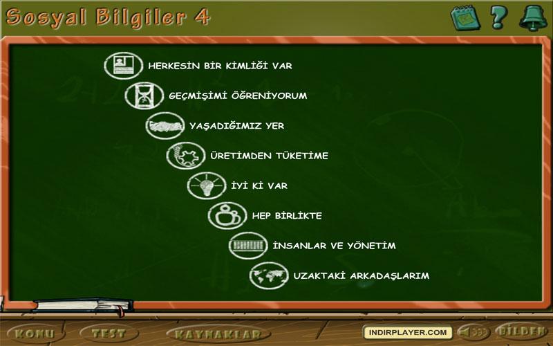 Bilden 4. Sınıf Sosyal Bilgiler Eğitim Programı