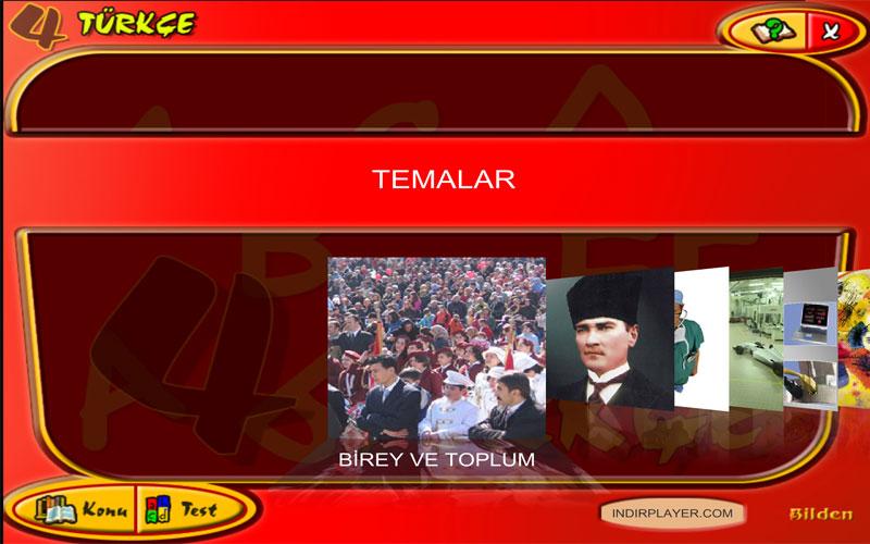 Bilden 4. Sınıf Türkçe Eğitim Programı