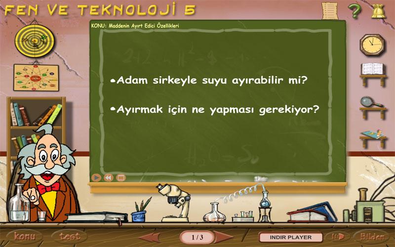 Bilden 5. Sınıf Fen ve Teknoloji Eğitim Programı