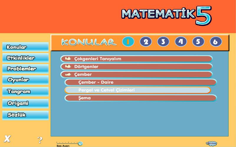Bilden 5. Sınıf Matematik Eğitim Programı