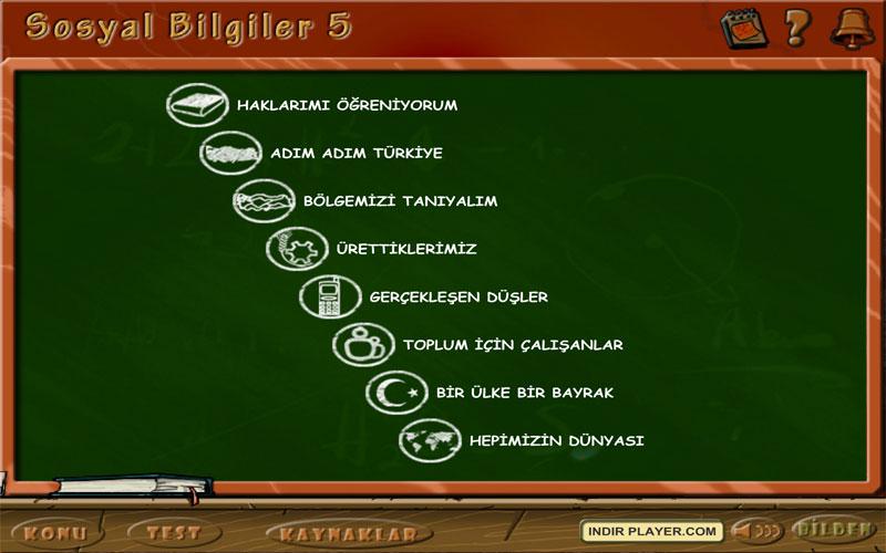 Bilden 5. Sınıf Sosyal Bilgiler Eğitim Programı