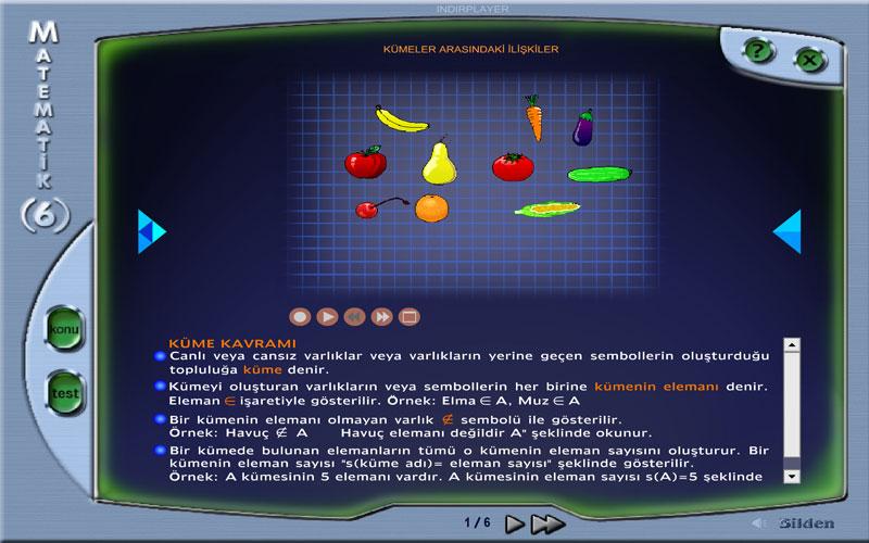 Bilden 6. Sınıf Matematik Eğitim Programı
