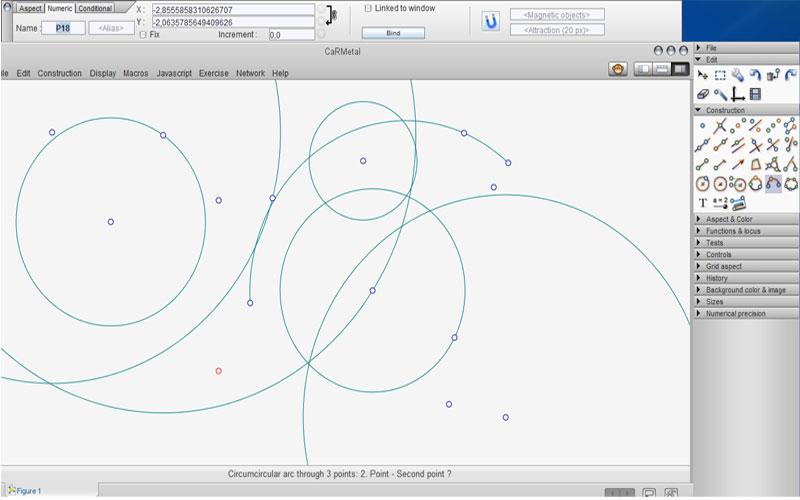 CaRMetal – Geometri için Ücretsiz ve Gelişmiş Çizim Programı