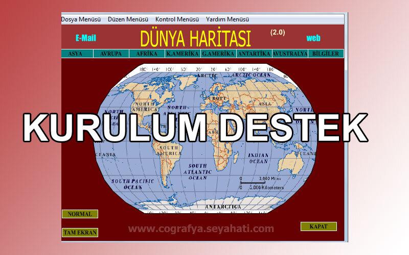 Çınar Dünya Haritası