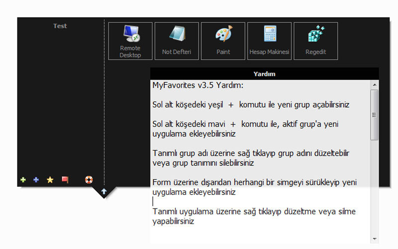 Datakent My Favorites – Windows 8 için Alternatif Başlat Menüsü Oluşturma