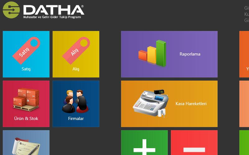 Datha Muhasebe Sistemi