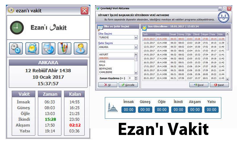 Ezan'ı Vakit Programı