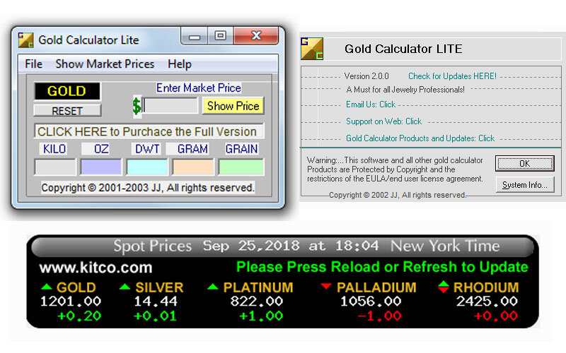 Gold Calculator LITE – Altın Ağırlık Fiyat Hesaplama Programı