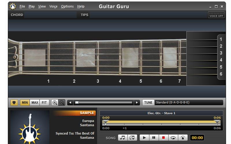 Guitar Guru – Gitar Öğrenme Programı