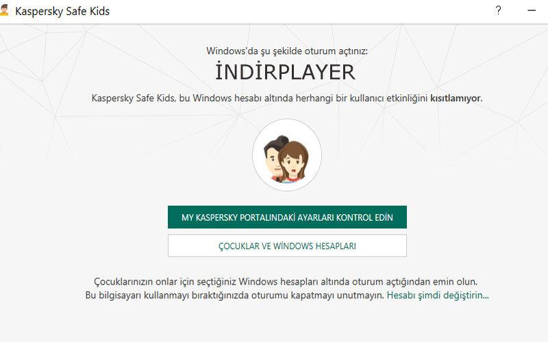 Kaspersky Safe Kids – Çocuklar için Ücretsiz PC Engelleme Resimli Anlatım Ebeveyn Kontrolü