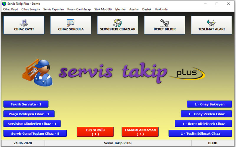 MTKsoft Servis Takip Plus