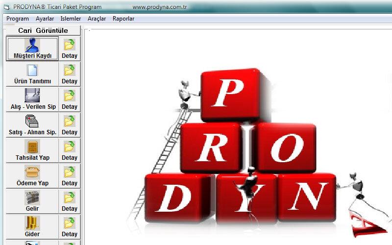 Prodyna Kurumsal Ön Muhasebe Programı