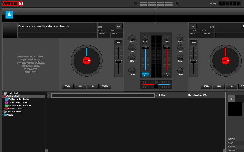 Virtual DJ Home Free – Müzik ve Seslere Remix Yapma Programı