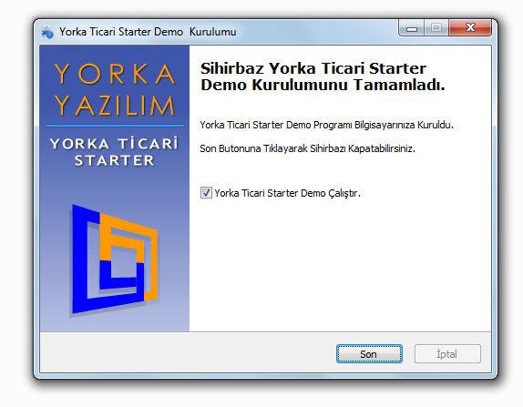 Yorka Ticari Starter Muhasebe Yeni Başlayanlar için Program